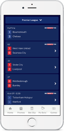 Live Match Notifications & ScoreCentre