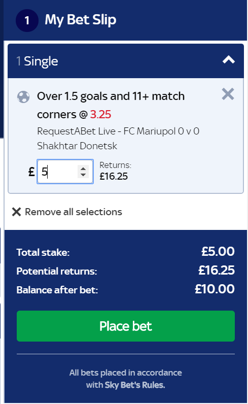 free bets on skybet codes