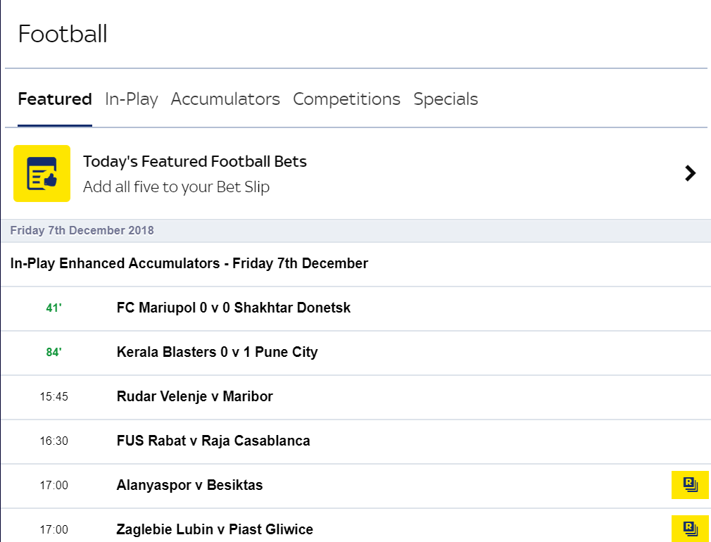 how to view your bets on skybet
